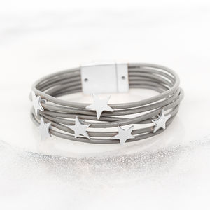 Alita Star Multi Strand Personalised Bracelet