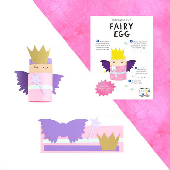 Make Your Own Fairy Egg Character