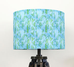 Floral Ferns Lampshade - children's lighting