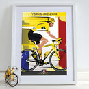 Grand Depart Yorkshire Art Print