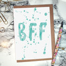 'BFF' Greeting Card