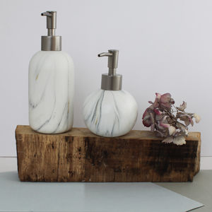 Marble Effect Soap Dispenser - traditional toys & games