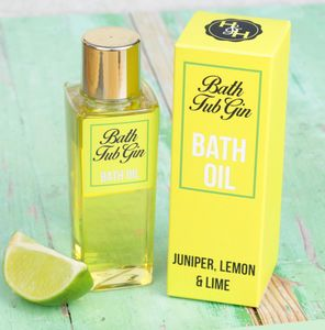 'Bath Tub Gin' Scented Bath Oil - bath & body