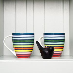 Floresta Stripe Mug - mugs