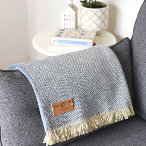 Personalised Blanket Or Throw - feeling cosy - hygge home ideas