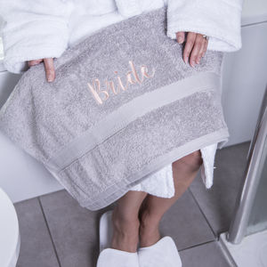 Bridal Hand Towel