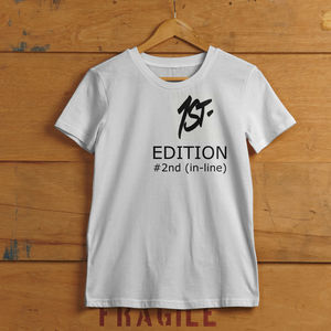 Unisex 2nd Edition T Shirt - women's fashion