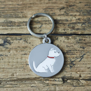 Westie Dog ID Name Tag - pets sale