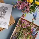 'Botanical' Mini Posy Flower Subscription Gift Card