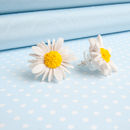 Large Daisy Stud Earrings
