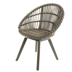 Rattan Indoor Outdoor Scandi Tub Chair - summer sale