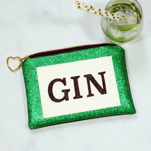 Gin Glitter Clutch Bag - NYE party accessories