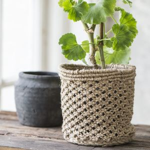 Jute Storage Basket - natural materials