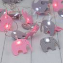 Child's Elephant Fairy Lights