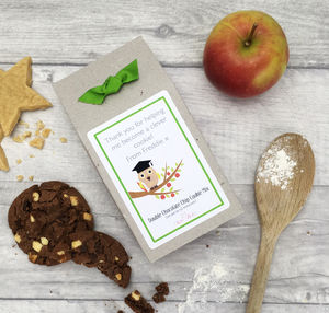 Personalised Teacher Thank You Gift Cookie Mix|Wise Owl - gifts for teachers