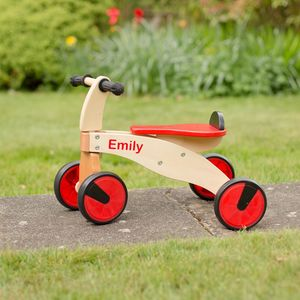 Personalised Wooden Toddler Bike - traditional toys & games