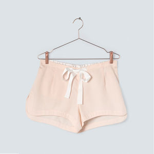Blush Organic Cotton Pyjama Shorts - women's fashion