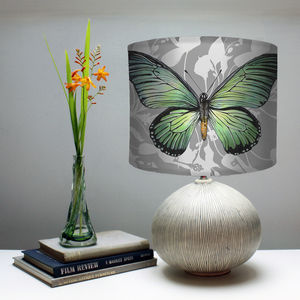 Swallowtail Butterfly Print Lampshade