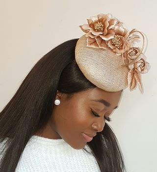 Gold Flower Hat
