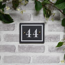 British Slate Number Traditional Font