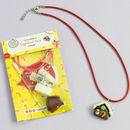 Gingerbread House Themed Jewellery Craft Mini Kit