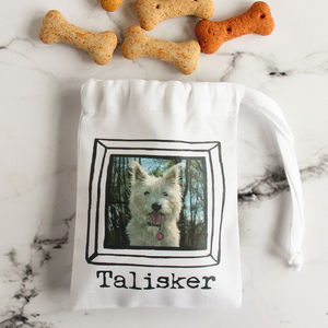 Personalised Dog Treat Bag - treats & food