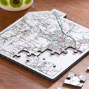 Personalised My Home Wooden Map Jigsaw