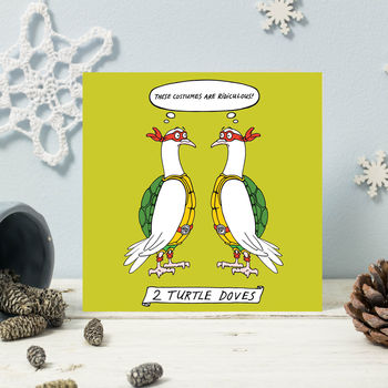 'Two Turtle Doves' Christmas Cards