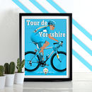 Tour De Yorkshire Poster Wall Art Print