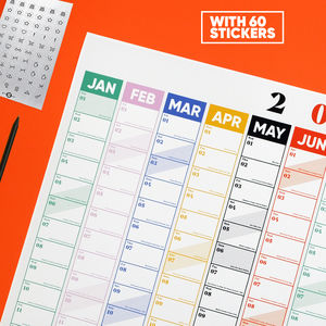 2019 Wall Planner