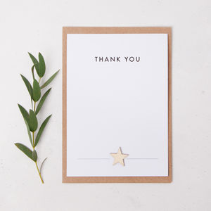 Thank You Notecards Pack Of Eight - thank you gifts