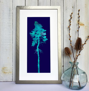 'Tree With Two Little Birds' Fine Art Giclee Print