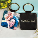 Personalised Dad Photo Keyring