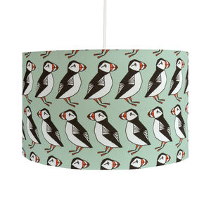 Puffins Lamp Shade - table lamps