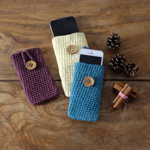 Organic Cotton Gadget Case - phone covers & cases