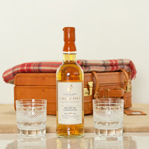 Braes Of Glenlivet Whisky And Luxury Travel Suitcase