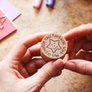 Personalised Teacher's Round Reward Stamp