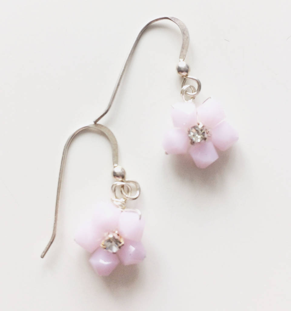 Pastel Floral Earrings