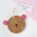 New Baby Wooden Decoration