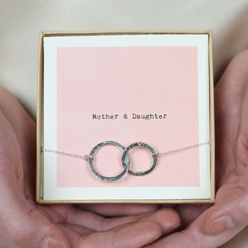 Mother And Daughter Bracelet Personalised