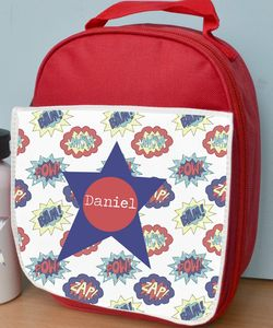 Personalised Boy's Lunch Bag Various Designs - bags, purses & wallets