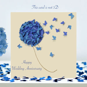 Butterfly Anniversary Card / Wedding Anniversary