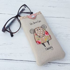 Ewe Design Glasses Cover - glasses cases