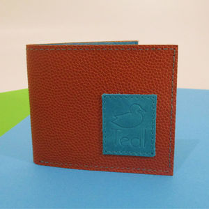 Vintage Basketball Leather Wallet - wallets & money clips