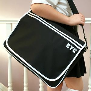 Messenger Retro School Satchel Bag