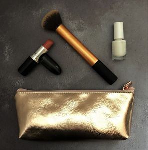 Rose Gold Make Up Bag - view all new