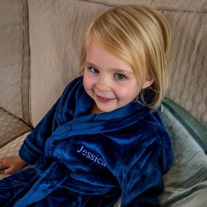 Personalised Supersoft Childrens Dressing Gown - bath robes