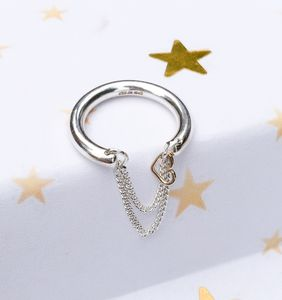 Personalised Charm Ring With Chain - rings