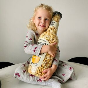 Giant 'Money Box' Gourmet Popcorn Bottle