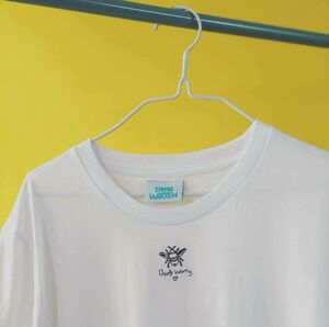 Embroidered Bee Worry T Shirt